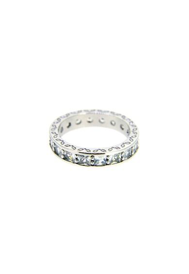 Rankine-Silver Inel de argint decorat cu cristale Femei
