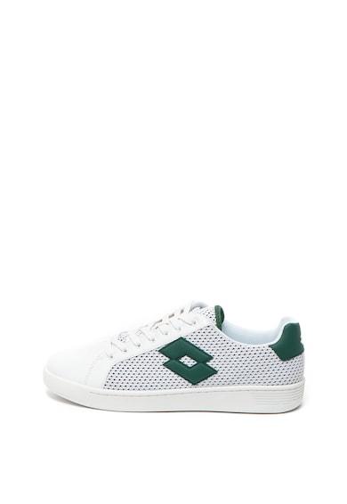 Lotto Спортни обувки от еко кожа с мрежести зони Мъже