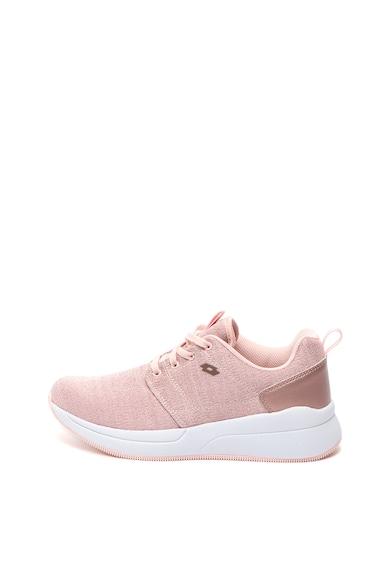 Lotto Pantofi sport din material textil si insertii de lurex Queen Femei