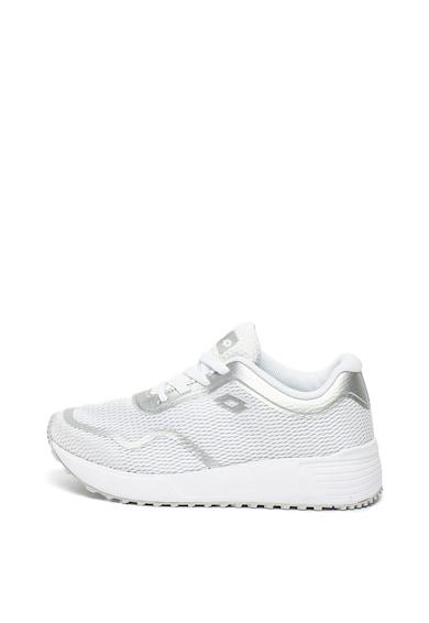 Lotto Pantofi sport de plasa si piele ecologica, cu talpa masiva Femei