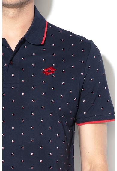 Lotto Десенирана тениска с яка Мъже