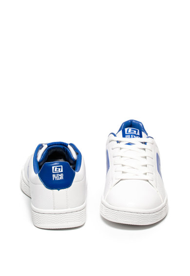 BLEND Pantofi sport de piele ecologica, cu model perforat Barbati
