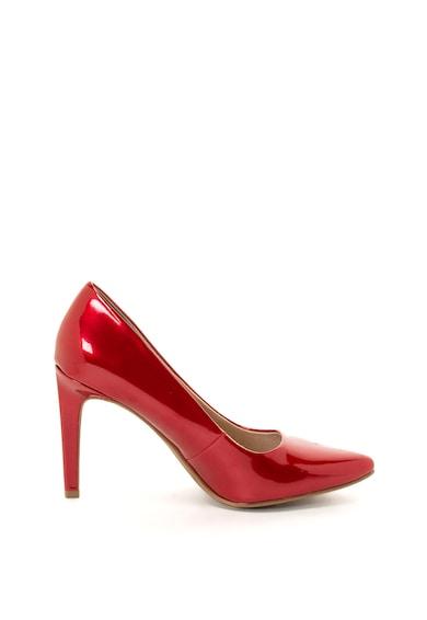 Marco Tozzi Pantofi de piele ecologica cu varf ascutit Femei