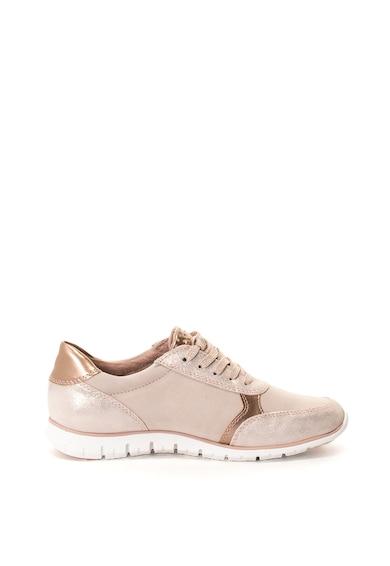 Marco Tozzi Pantofi sport cu insertii lucioase Femei
