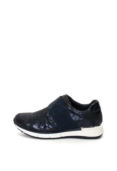 Marco Tozzi Pantofi sport slip-on cu detalii stralucitoare Femei