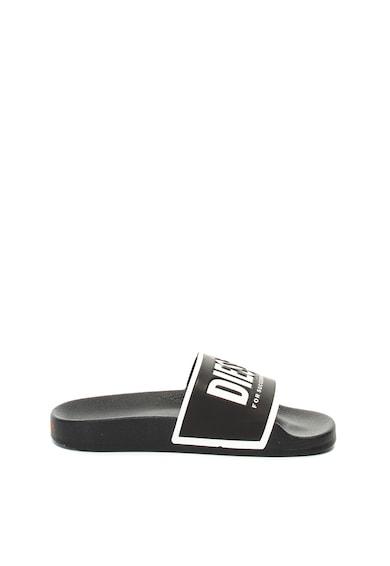 Diesel Papuci cu imprimeu logo Sa-Valla Femei