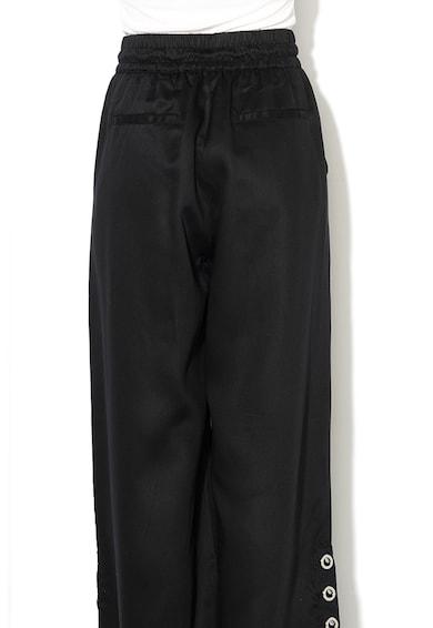 Diesel Pantaloni cu croiala ampla si anouri metalice Rhon Femei