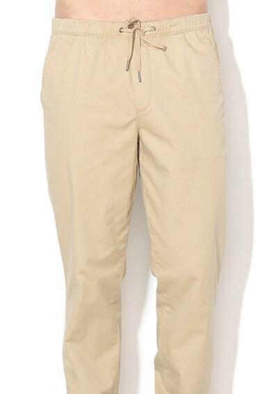GAP 3 Pantaloni jogger cu imprimeu camuflaj si snur pentru ajustare Barbati