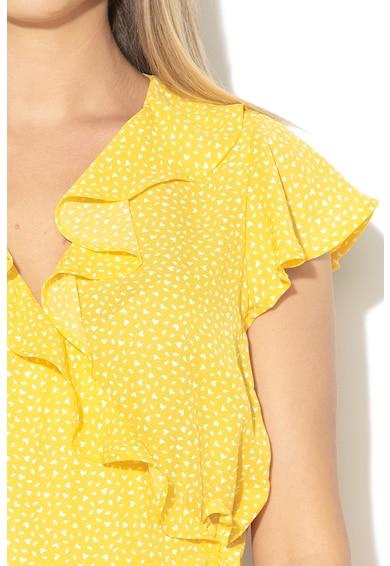 Banana Republic Блуза със застъпване Жени