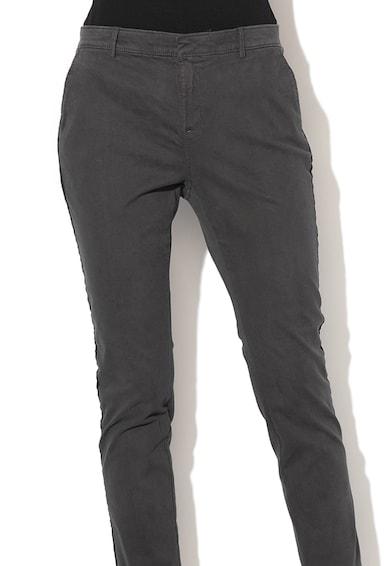 Banana Republic Pantaloni chino skinny cu garnituri tubulare laterale Femei