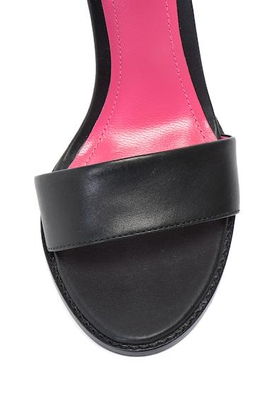 Diesel Sandale de piele cu bareta pe glezna D-Ipper Femei