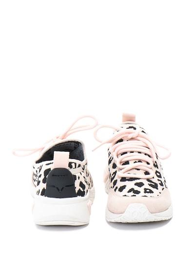 Diesel Pantofi sport slip-on cu animal print Kby Femei