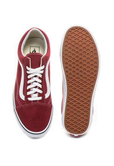 Vans Old Skool cipő nyersbőr szegélyekkel férfi