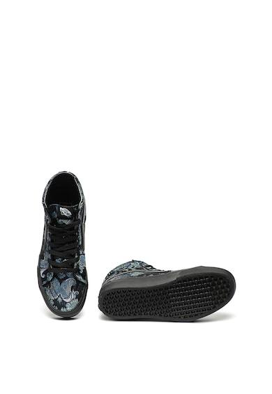 Vans Sk8-Hi Flatform magas szárú virágmintás cipő női