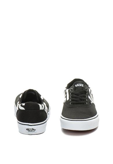 Vans Doheny cipő kontrasztos logómintával férfi