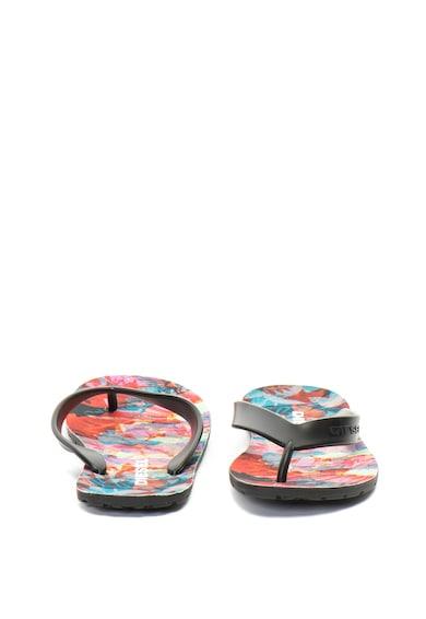 Diesel Papuci flip flop cu imprimeu floral Splish Femei