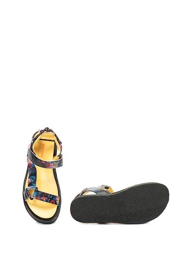 Diesel Sandale de piele cu imprimeu Paradyce Femei