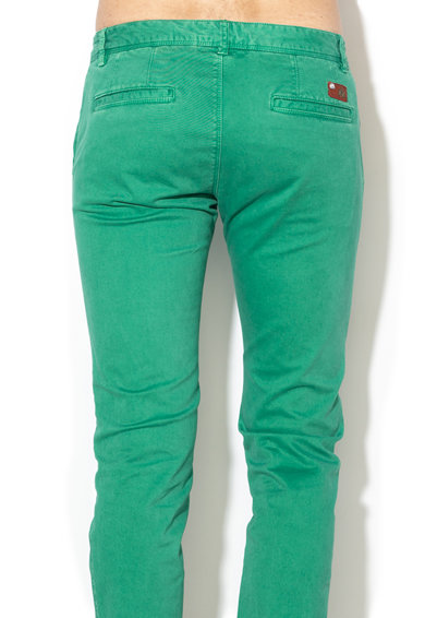 LA MARTINA Pantaloni chino slim fit Barbati
