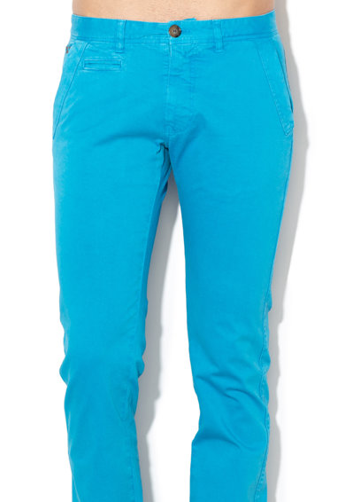 LA MARTINA Pantaloni chino slim fit Barbati