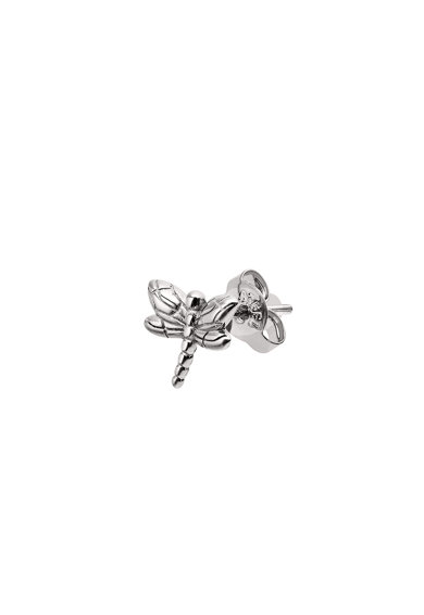 Emporio Armani Сребърни обеци с дизайн на водно конче Жени