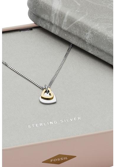 Fossil Sterling ezüst nyaklánc szív alakú medállal női