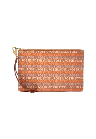 Fossil Кожена чантичка с каишка за китката Жени