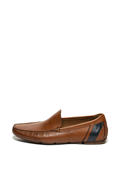 Aldo Pantofi loafer de piele cu garnituri contrastante Liljeberg Barbati