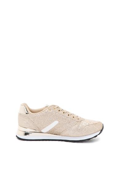 Versace Jeans Pantofi sport cu aspect stralucitor Amber Femei