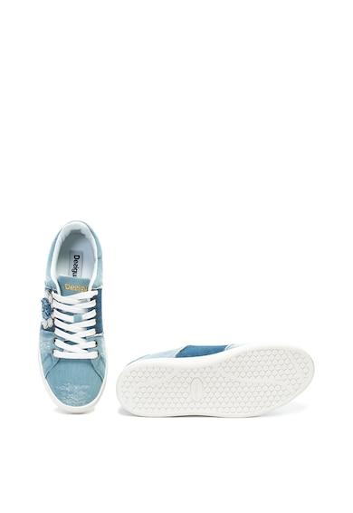 DESIGUAL Спортни обувки Cosmic Exotic с ефект на деним Жени
