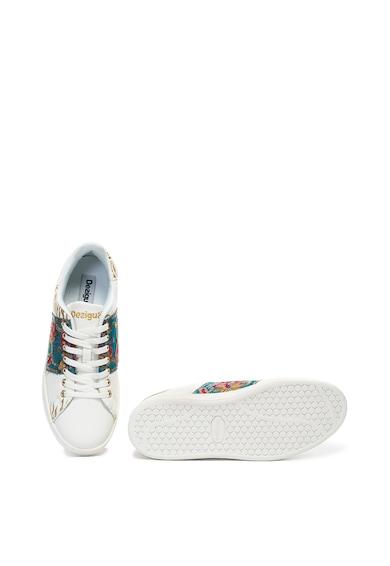 DESIGUAL Pantofi sport cu paiete si broderii Cosmic Exotic Femei