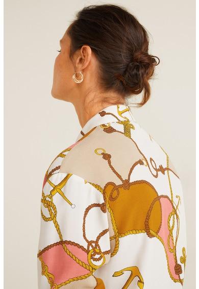 Mango Camasa cu imprimeu grafic Naomi Femei