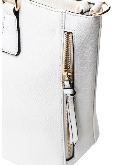 Francesca Rossi Чанта от еко кожа с джобове с цип Жени