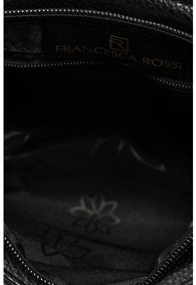 Francesca Rossi Geanta de piele saffiano ecologica, cu bareta de umar si tinte Femei