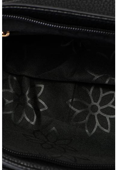 Francesca Rossi Geanta de piele saffiano ecologica, cu fermoar decorativ Femei