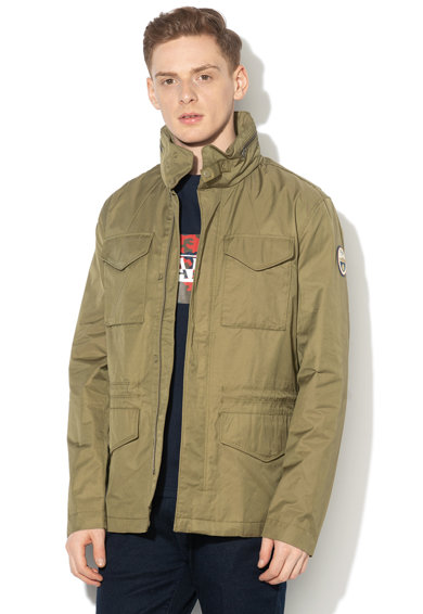 Napapijri Atessa slim fit dzseki elcsomagolható kapucnival férfi
