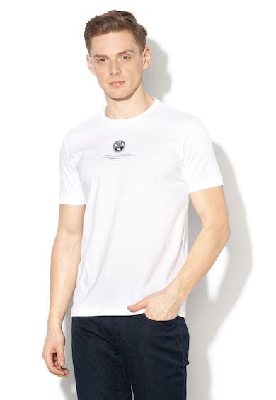 Napapijri Salme póló gumis logómintával férfi