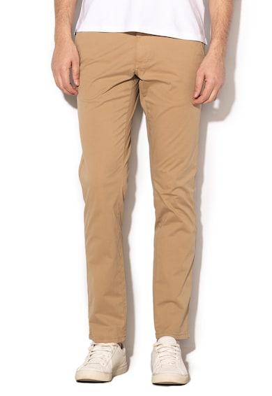 Napapijri Pantaloni chino din material elastic Mana Barbati