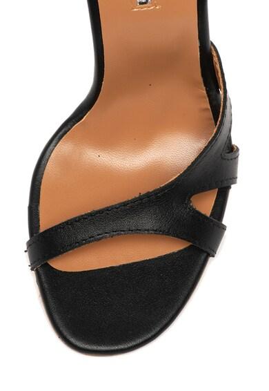 Mihaela Glavan Sandale de piele, cu toc inalt Femei