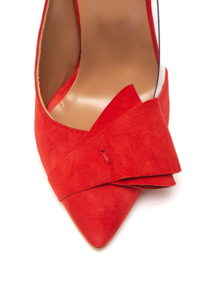 Mihaela Glavan Pantofi stiletto de piele intoarsa Femei