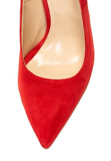 Mihaela Glavan Pantofi de piele cu varf ascutit si detaliu cu funda Femei