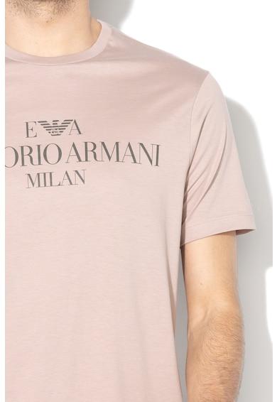 Emporio Armani Logómintás póló férfi