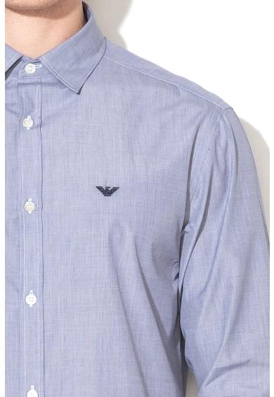 Emporio Armani Риза с бродирано лого Мъже