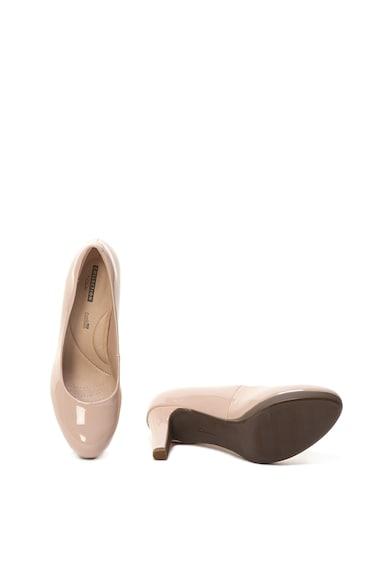 Clarks Adriel Viola lakkbőr hatású tűsarkú cipő női