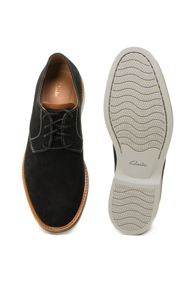 Clarks Atticus nubuk bőr cipő férfi