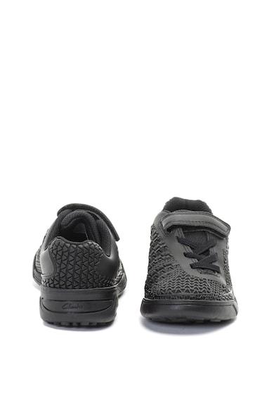 Clarks Awardblaze műbőr cipő texturált dizájnnal Lány