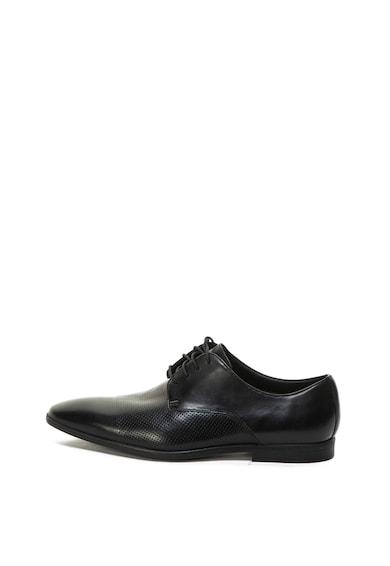 Clarks Кожени обувки Bampton с издължен връх Мъже