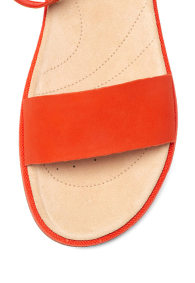 Clarks Sandale de piele nabuc, cu brant anatomic Botanic Ivy Femei