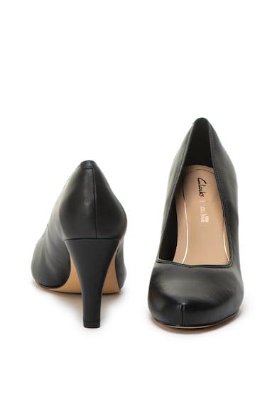 Clarks Dalia Rose magas sarkú bőrcipő női