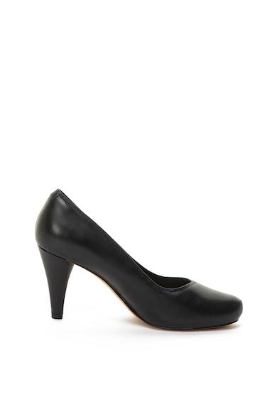 Clarks Pantofi de piele cu toc inalt Dalia Rose Femei