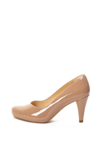Clarks Dalia Rose magas sarkú lakkbőr cipő női